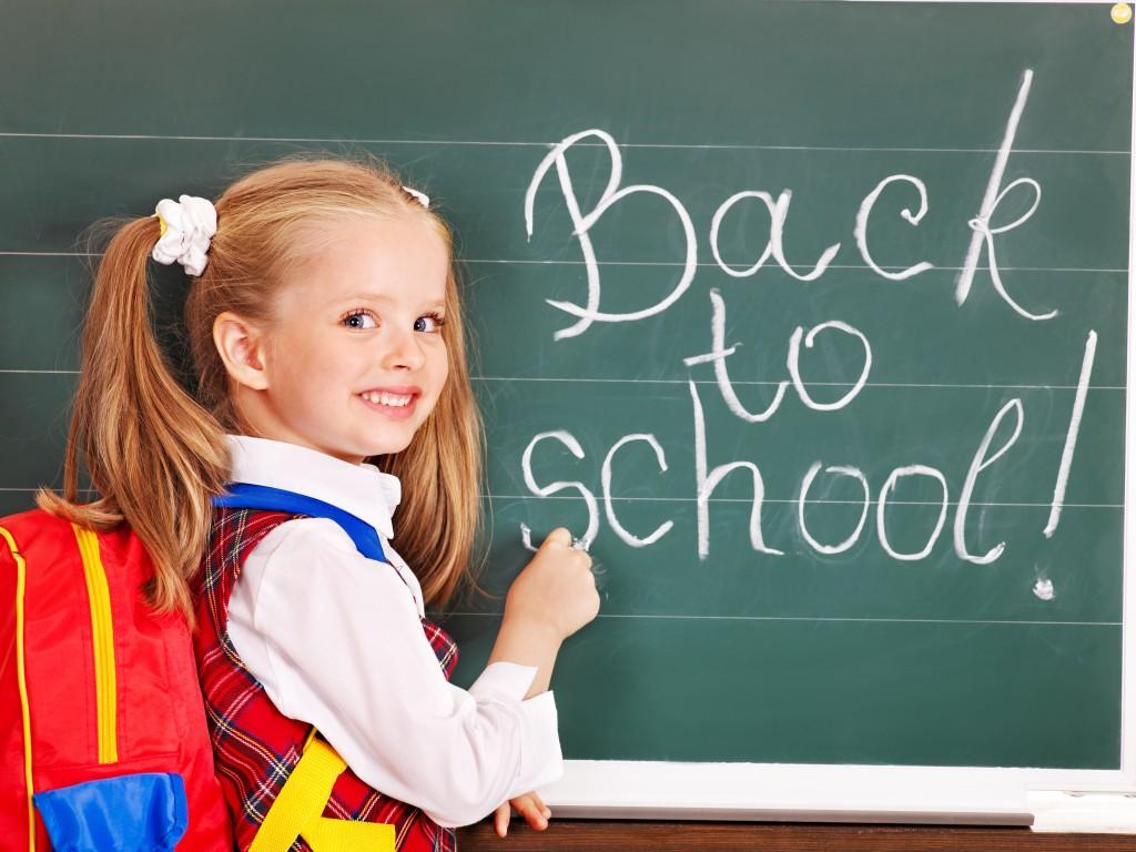 Stoom je kind klaar om gezond terug naar school te gaan.
