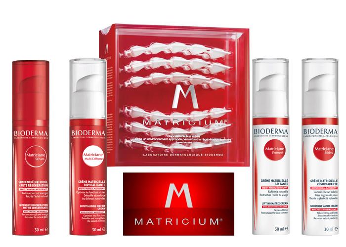 Matricium heeft een celvernieuwende, beschermende en hydraterende werking op een beschadigde huid.