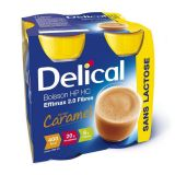 Delical Effimax 2.0 Fibres caramel Boisson 4x200ml - thumbnail