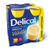 Delical effimax 2.0 vanille Boisson 4x200ml - thumbnail