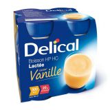 Delical HP-HC Vanille Drankje 4x200ml - thumbnail