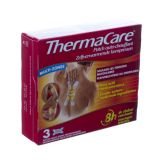 Thermacare compresses chauffantes muti-zones Patches 3 pièces - thumbnail