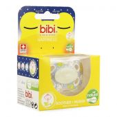 Bibi Happiness dental Glow in the dark chupete 6-16M