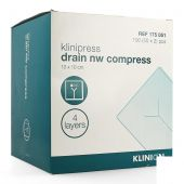 Klinion Klinipress Drain nw compress 10x10cm