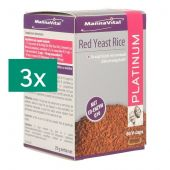 Mannavital Platinum Red Yeast Rice Tripack