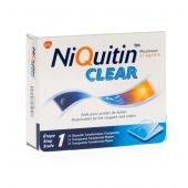Niquitin Clear Patch 21mg