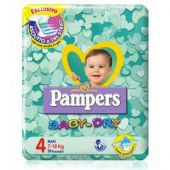 Pampers Baby Dry Maxi 7-18Kg