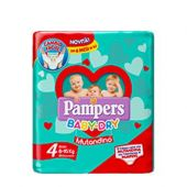 Pampers Baby-Dry Mutandino 4 Maxi 8-15kg Small Pack