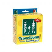 Travel John 3st sac urinal jetable