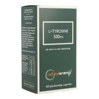Natural Energy L-tyrosine 500mg Capsules 60 stuks - thumbnail