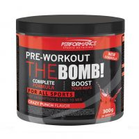 Performance The Bomb Pre-workout crazy punch Poudre 300g - thumbnail