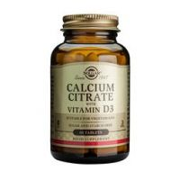 Solgar Calcium citrate with vitamin D-3 Capsules 60 pièces - thumbnail