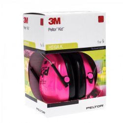 3M Peltor protection auditive enfant rose fluo 1 pièces