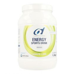 6D Energy Sports drink citroen-limoen Poeder 1300g