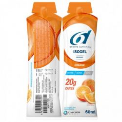 6D Isogel orange 60 g Stick de gel 12 pièces