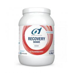 6D Recovery Shake Erdbeere Pulver 1000g
