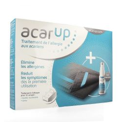 Acar'Up Uno kit anti-acariens support textile + solution 50ml 1 pièces