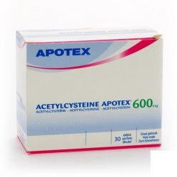 Acetylcysteine 600mg Apotex  Sachets 30 pièces
