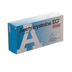 Acetylcysteine EG 600mg Effervescents 30 pièces