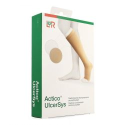 Actico Ulcersys beige-blanc XL 1 pièces
