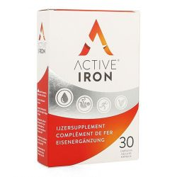 Active Iron kind & strong Capsules 30 pièces