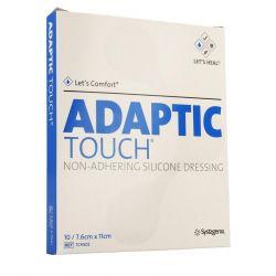 Adaptic Touch Siliconeverband 7,6x11cm 10 stuks