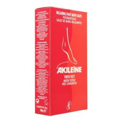 Akileïne rood voetbadzout Badzout 2x150g