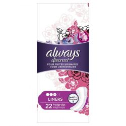 Always Discreet Plus liners 22 stuks