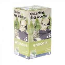 Ardennen thee nr 2 Gewrichten Theebuiltjes 20 stuks