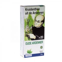 Ardennen thee nr 20 Oude ardenner Thee 80g