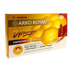 Arko Royal Dynergie Ampoules 20x10ml