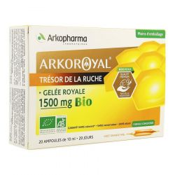 Arko Royal Jalea Real Bío 1500 mg Ampollas 20 unidades
