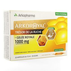 Arkoroyal 1000mg Ampoules 20 pièces