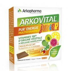 Arkovital Pur'Energy Junior Cube 15 pièces