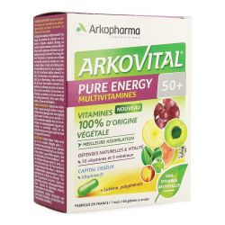Arkovital Pure Energy 50+ Capsules 60 pièces
