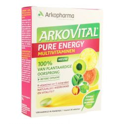 Arkovital Pure Energy Tabletten 30 stuks