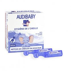 Audibaby solution auriculaire unidoses Flapulles 10 X 2ml