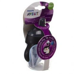Avent Antilek Pinguinbeker Zwart 340ml