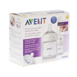 Avent Natural biberon duo 2x125ml