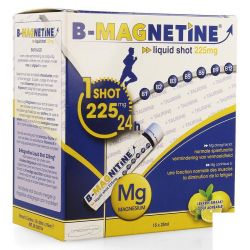 B-Magnetine 225mg liquid shot Ampullen 15x25ml