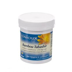 Bambou Tabashir Capsules 200 pièces