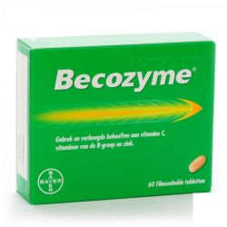 Becozyme Tabletten 60 stuks