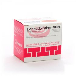 Benzadermine gel anti-acne Gel 23.3g