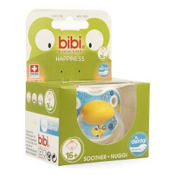 Bibi Happiness dental Birdy sucette 16+ 1 pièces