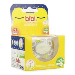 Bibi Happiness dental Glow in the dark sucette 16+ 1 pièces