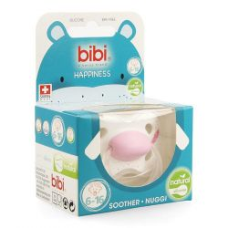Bibi Tétine Happiness Indian summer Natural 6-16m 1 pièces