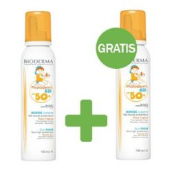 Bioderma Photoderm Kid Mousse SPF50+ promopack Spray 2x150ml