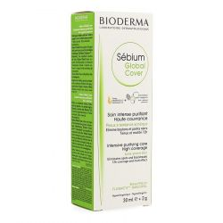 Bioderma Sébium Global Cover Creme Creme+Stift 30ml