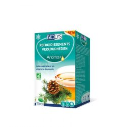 Biolys Aroma+ Refroidissements Infusettes 20 pièces