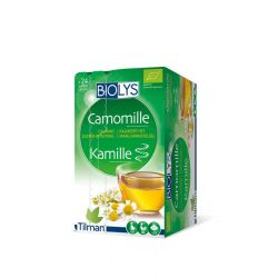Biolys Camomille Infusettes 24 pièces